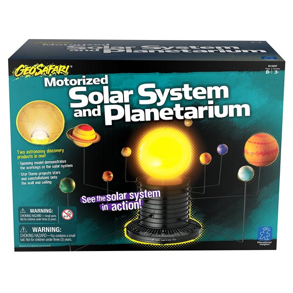 Educational Insights - GeoSafari Motorized Solar System ...