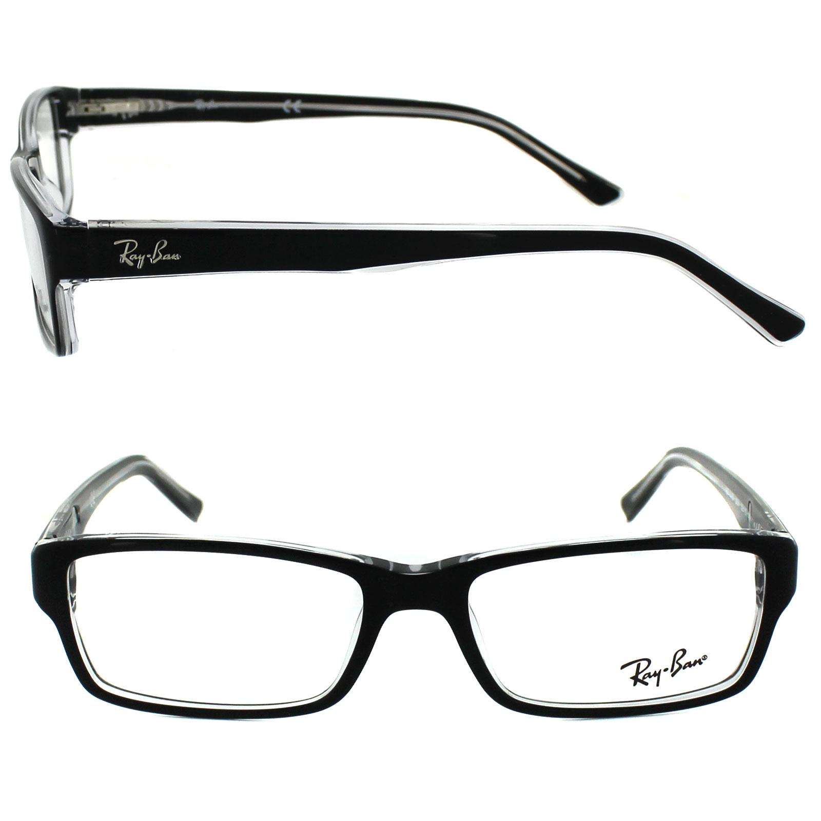 Ray Ban Glasses Frames Top Black On Transparent