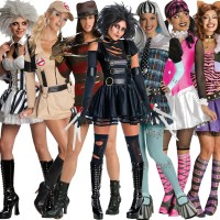 images of monster high halloween costumes