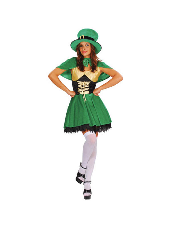 Ladies Sexy Lucky Leprechaun St Patricks Day Irish Fancy ...