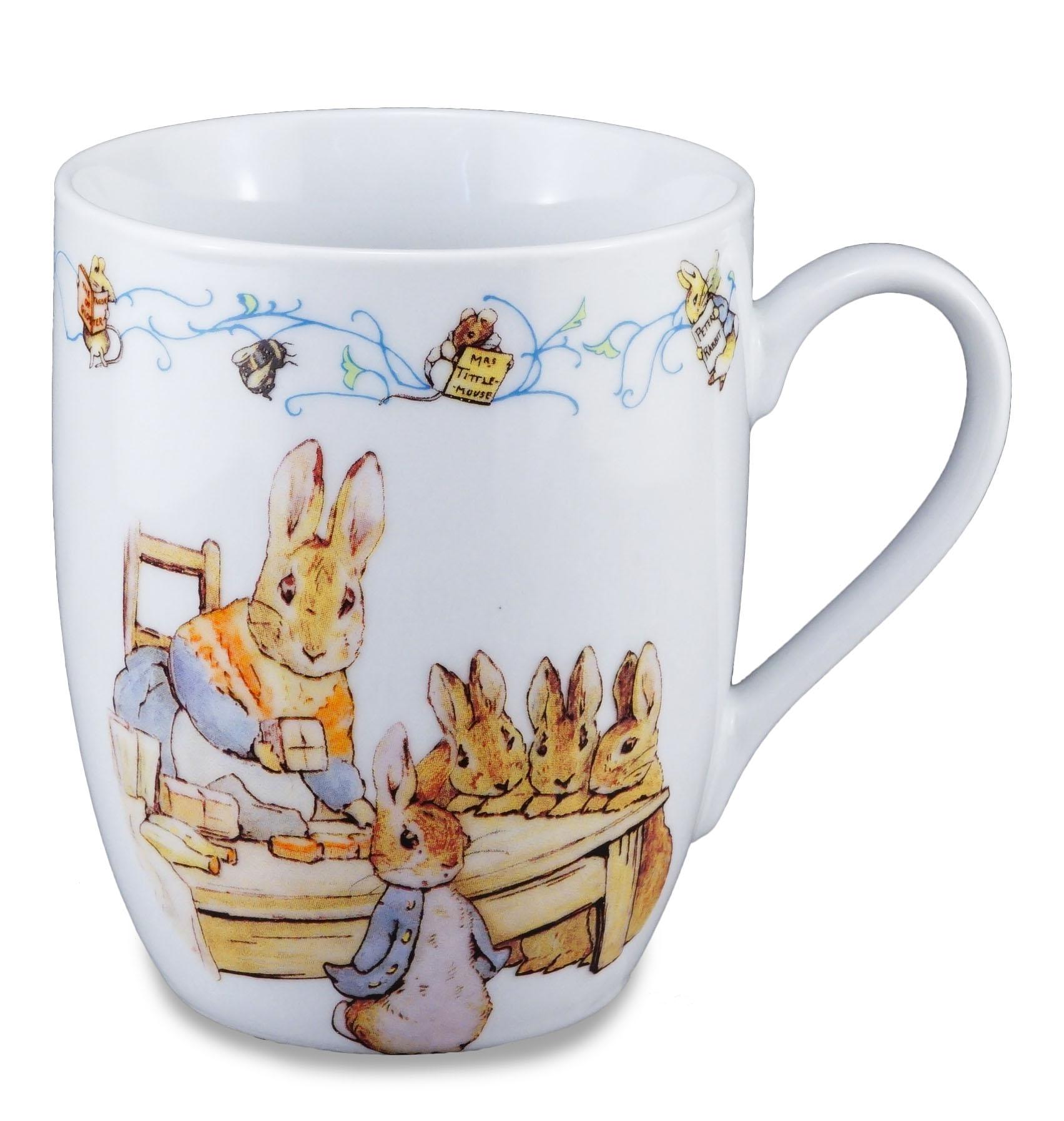 150th Jubilum Peter Rabbit Amp Family Porzellan Tasse