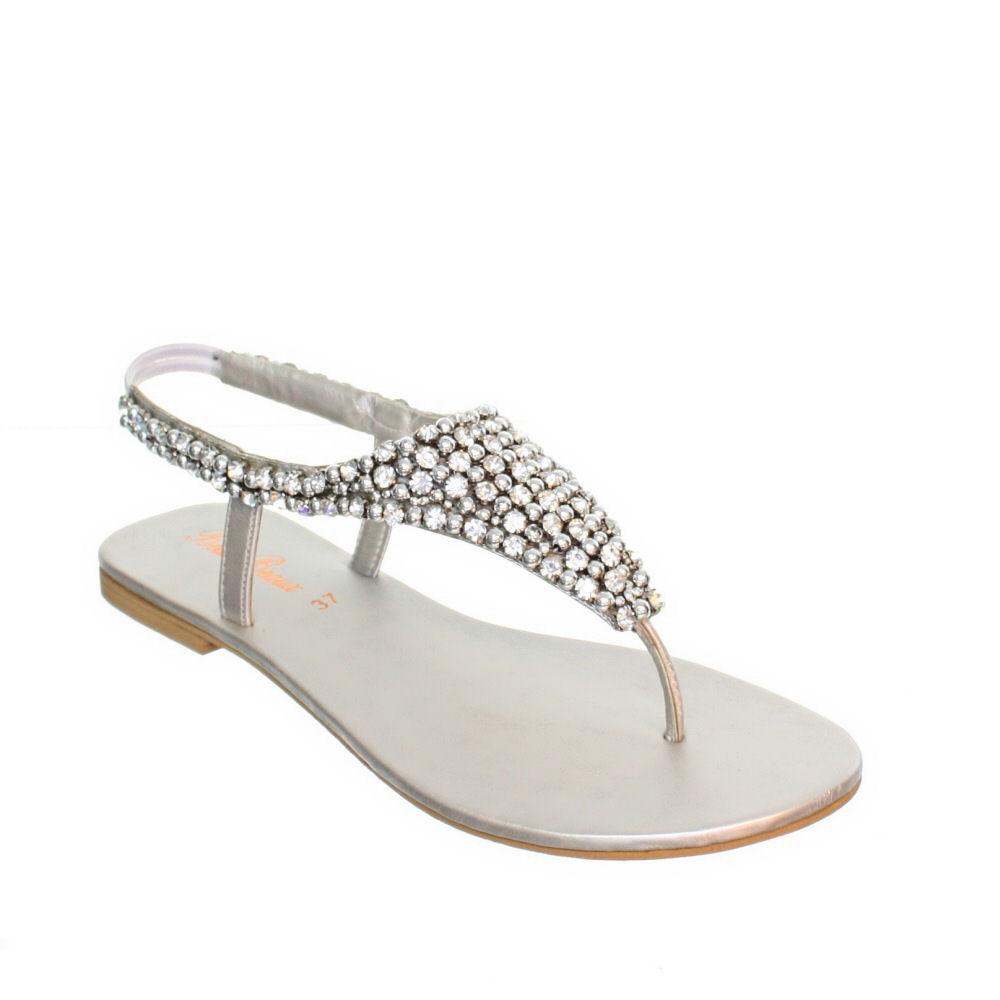 Silver Sandals Wedding
