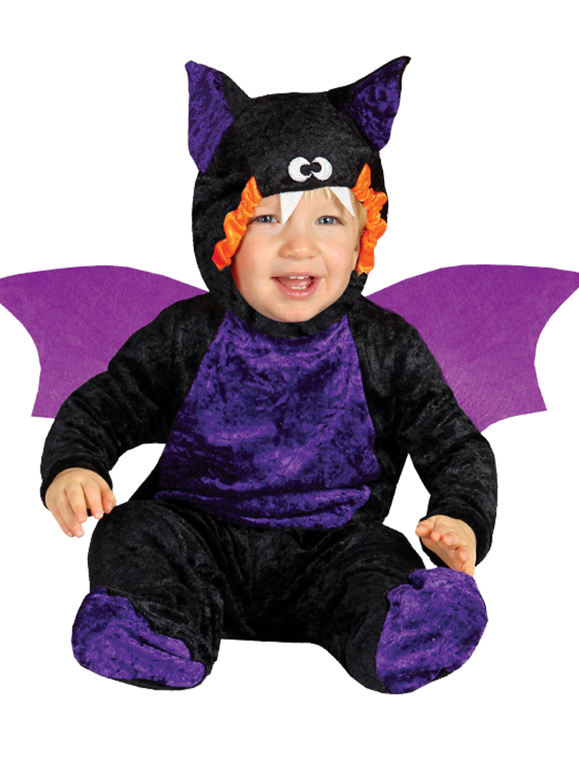 Baby Toddler Bat Jumpsuit Costume Childs Halloween Fancy