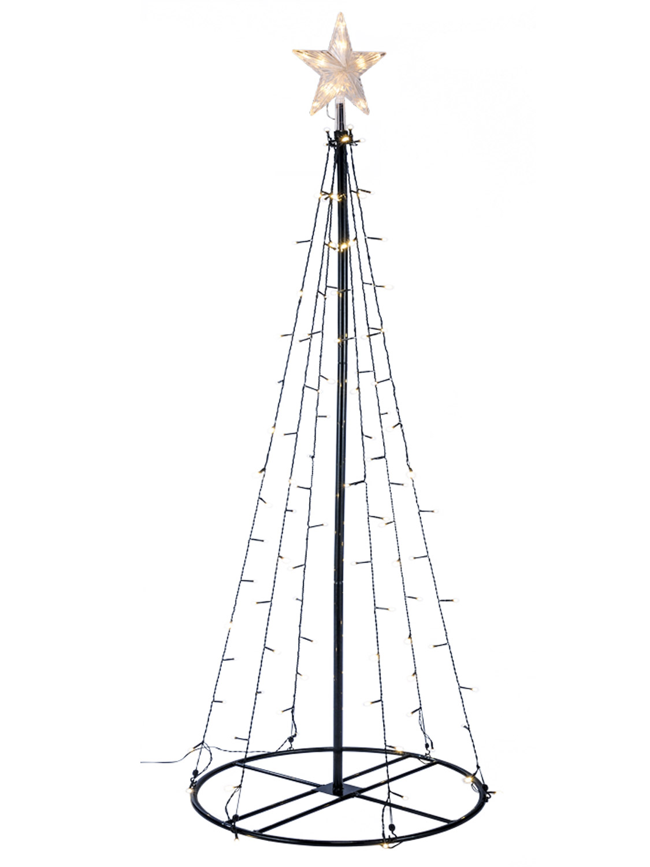 120cm Light Chain Christmas Tree Star 70 Leds Xmas