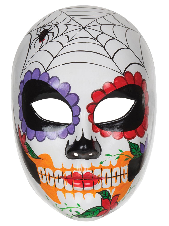 La S Day Of The Dead Mexican Sugar Skull Mask Halloween