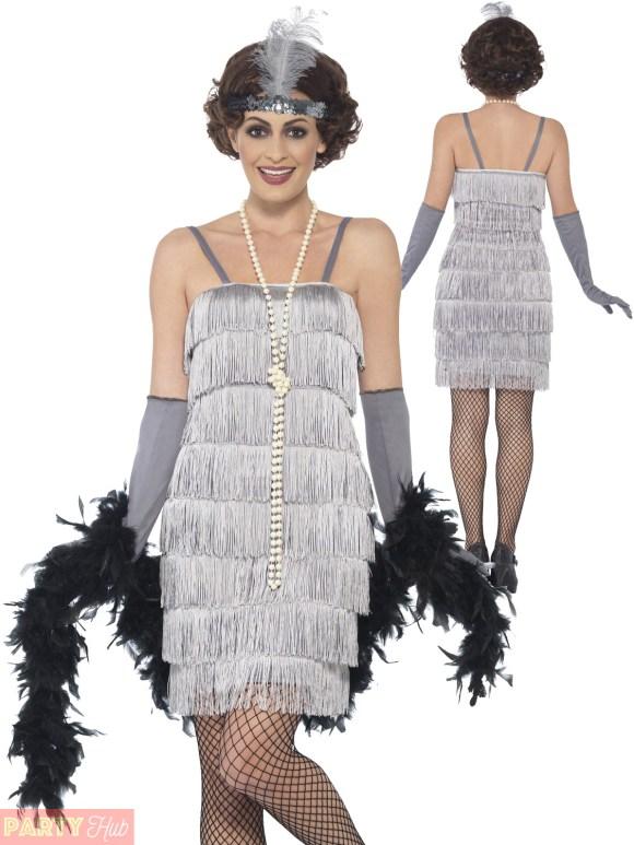 Ladies Charleston Flapper Costume Adults 1920s Gatsby ...