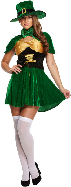 Sexy Leprechaun St Patrick's Day Costume | All Ladies ...