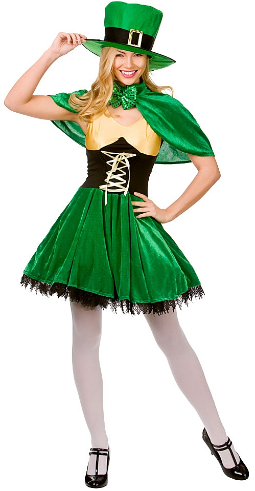 Irish Lucky Leprechaun St Patrick's Day Costume | All ...