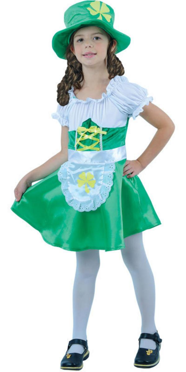 Girl's Lucky Leprechaun St Patrick's Costume | National ...