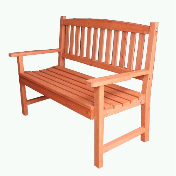 hardwood garden bench FoxHunter Wooden Garden Bench 2 Seat Seater Hardwood