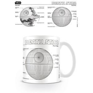 STAR WARS DEATH STAR SKETCH MUG CERAMIC COFFEE TEA CUP