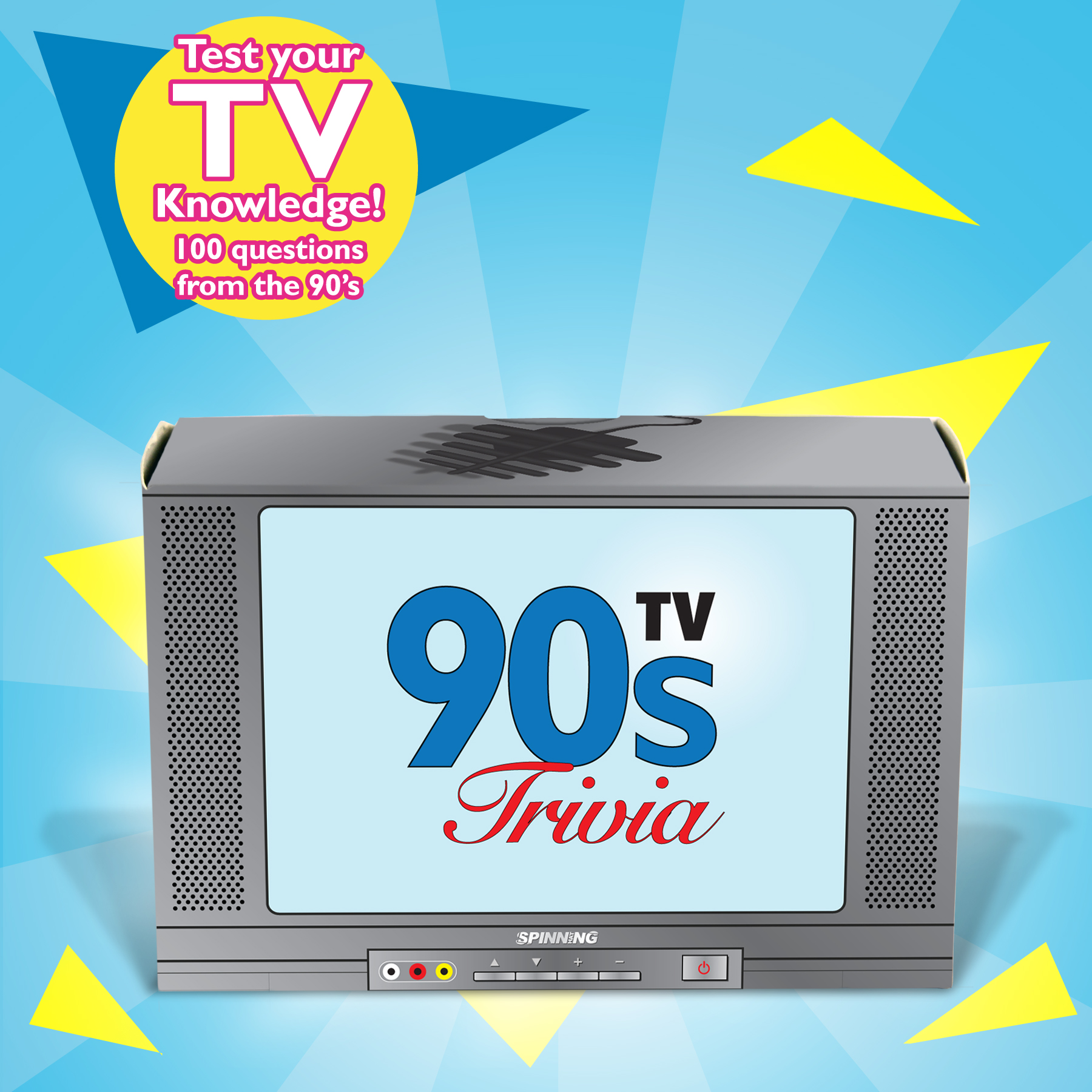 New S Tv Trivia 100 Cards Game Puzzle Retro Quiz