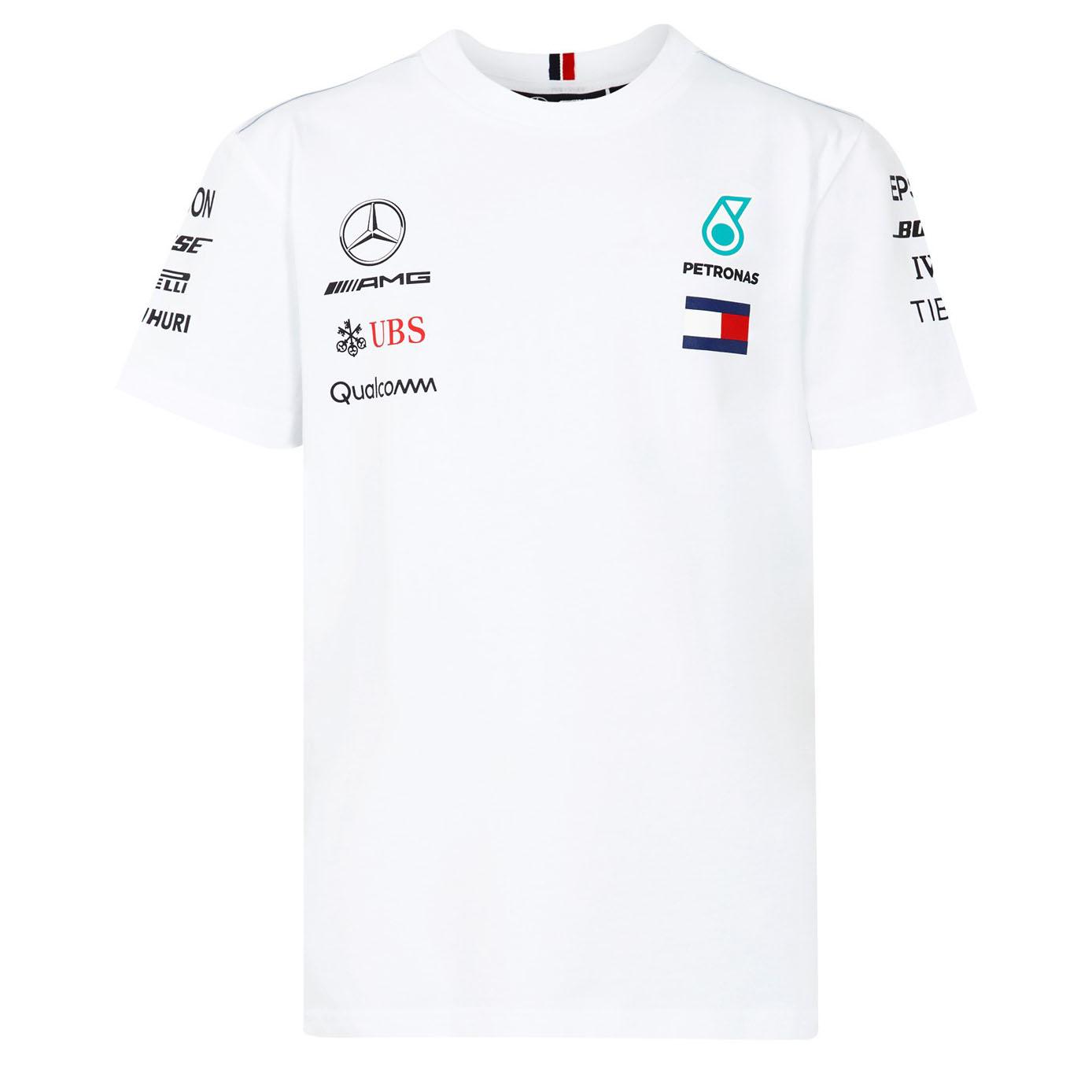 Mercedes Amg F1 Lewis Hamilton Kids Team T Shirt