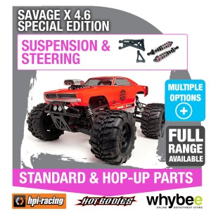 HPI SAVAGE X 46 SPECIAL EDITION [Steering & Suspension