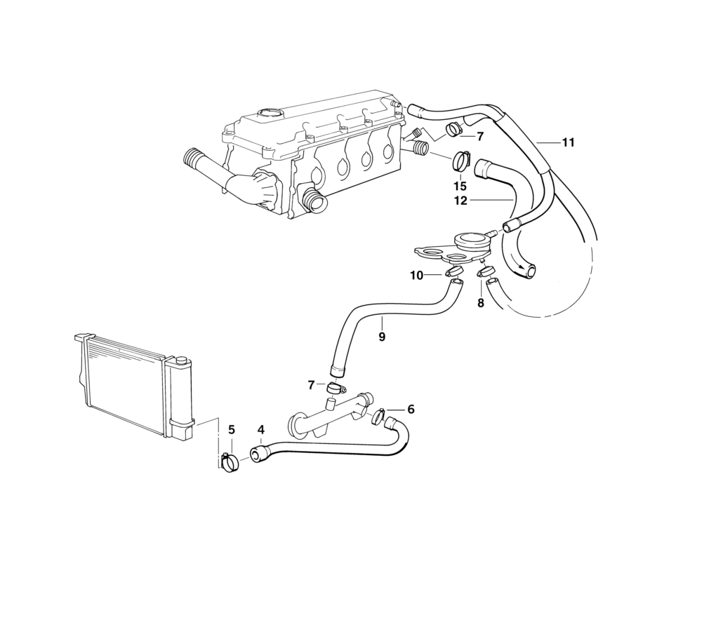 E83 Bmw X3 Cooling System Diagram