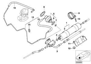 BMW Genuine Fuel Filter E39E52 5 Series M5 Z8