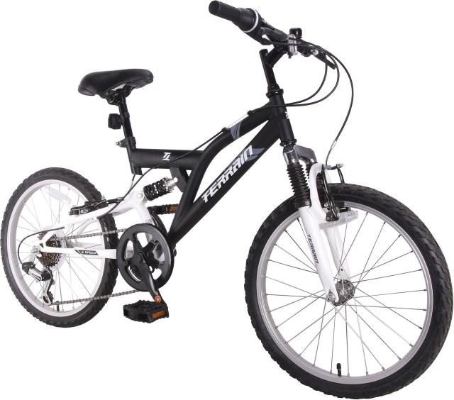 Terrain Freemont Boys Dual Suspension Mountain Bike 20 ...