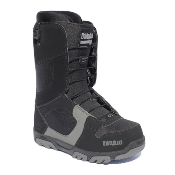 ThirtyTwo Prion FastTrack Snowboard Boots 2011 in Black Grey