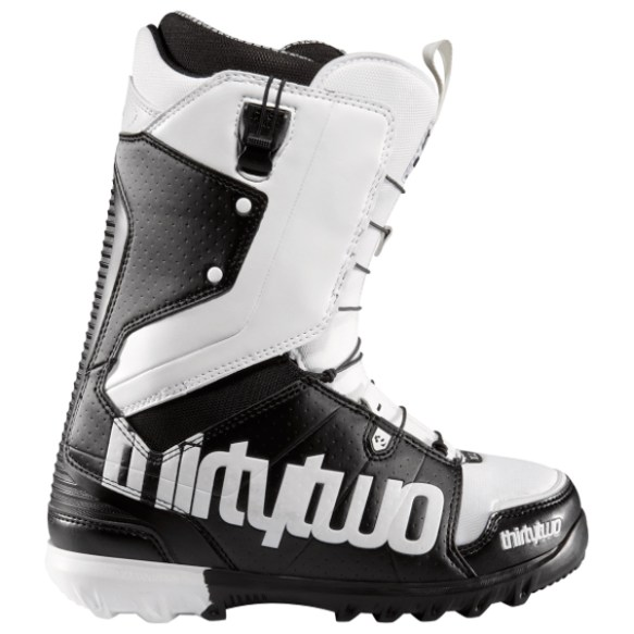ThirtyTwo Lashed FastTrack Snowboard Boots 2012 in Black White