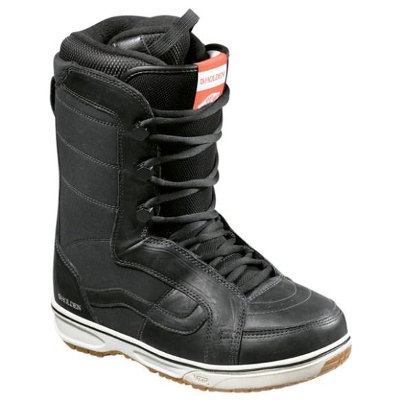 Vans Womens Holden Snowboard Boots 2012 in Black
