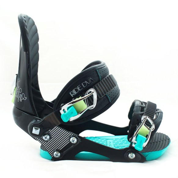 Ride DVA Womens Snowboard Bindings 2012 in Black various sizes