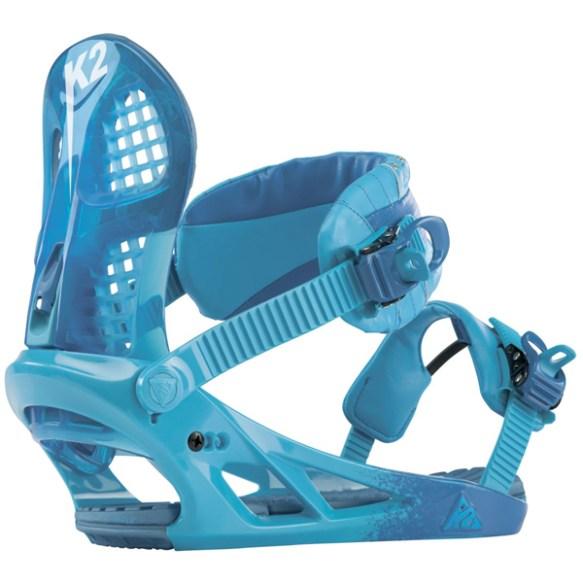 K2 Hurrithane Snowboard Bindings 2013 Blue