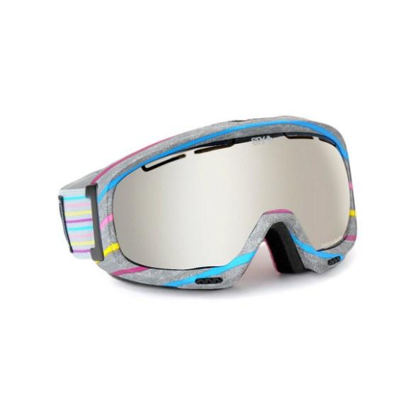 Spy Bias Candy Coated Snowboard Ski Goggles Bronze Silver Mirror 2013