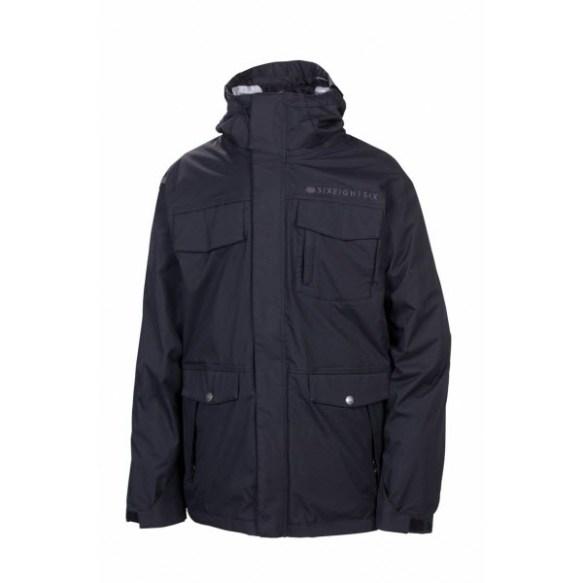 686 Smarty Command Mens Snowboard Jacket Black 2013