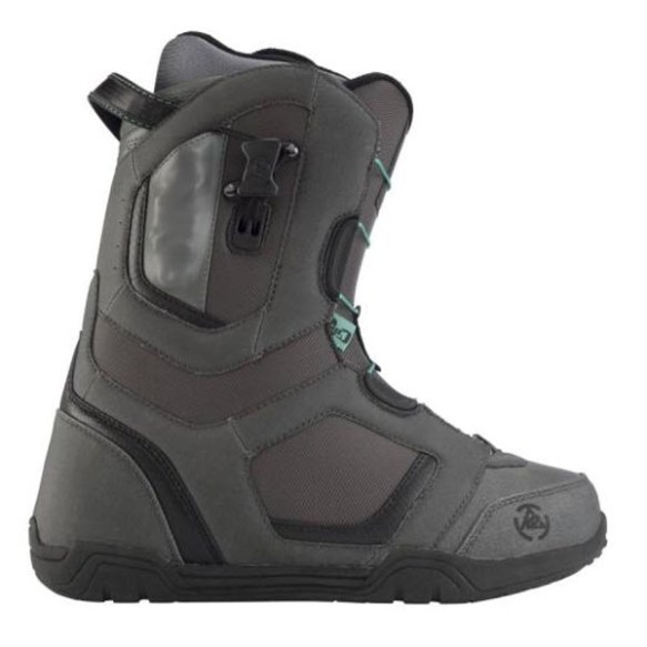 K2 Haymaker Mens Snowboard Boots 2012 in Charcoal