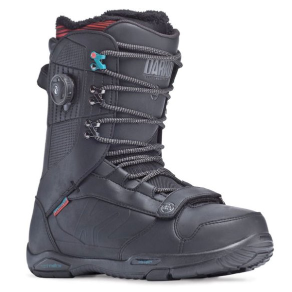K2 Darko Mens Snowboard Boots 2014 in Black