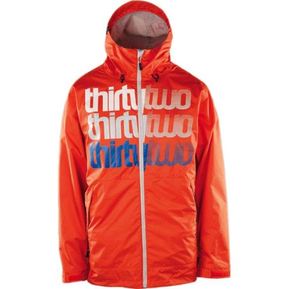 Thirtytwo Shakedown Insulated Snowboard Jacket 2013 in Orange