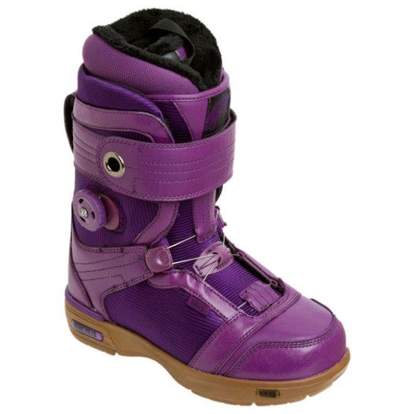 Vans Kira Womens Snowboard Boots 2011 in Purple Gum