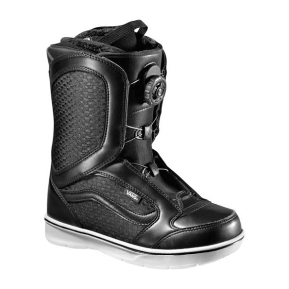 Vans Encore BOA Womens Snowboard Boots 2013 in Black White