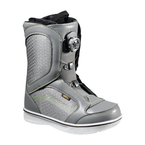 Vans Encore BOA Womens Snowboard Boots 2013 in Grey Green