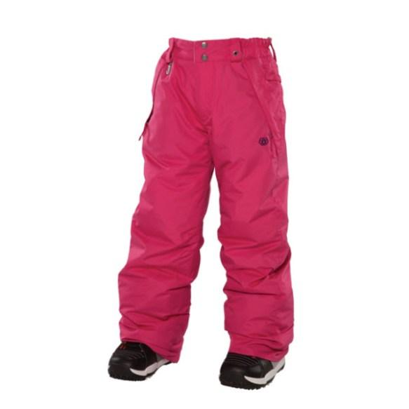 686 Mannual Brandy Girls Snowboard Pants Rasberry Medium Sample 2014 Age 8-10