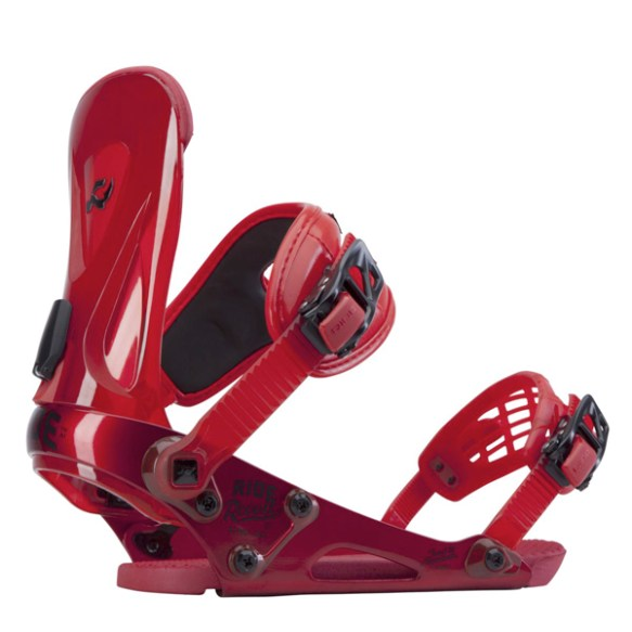 Ride Revolt Snowboard Bindings All Mountain Freestyle 2014 Red