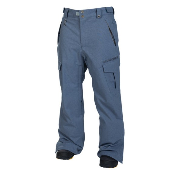686 Mannual Infinity Insulated Mens Snowboard Pants Ink Texture 20