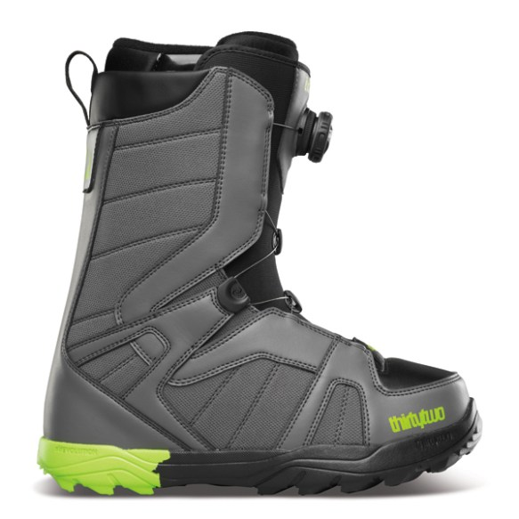 Thirtytwo STW BOA Mens Snowboard Boots 2015 in Grey Black