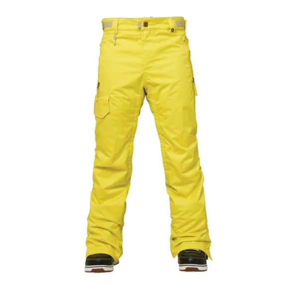 686 Authentic Quest Mens Snowboard Pants 2015 Celery