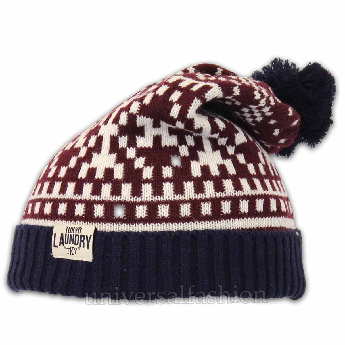 For A Lined Knitted Hat Pattern