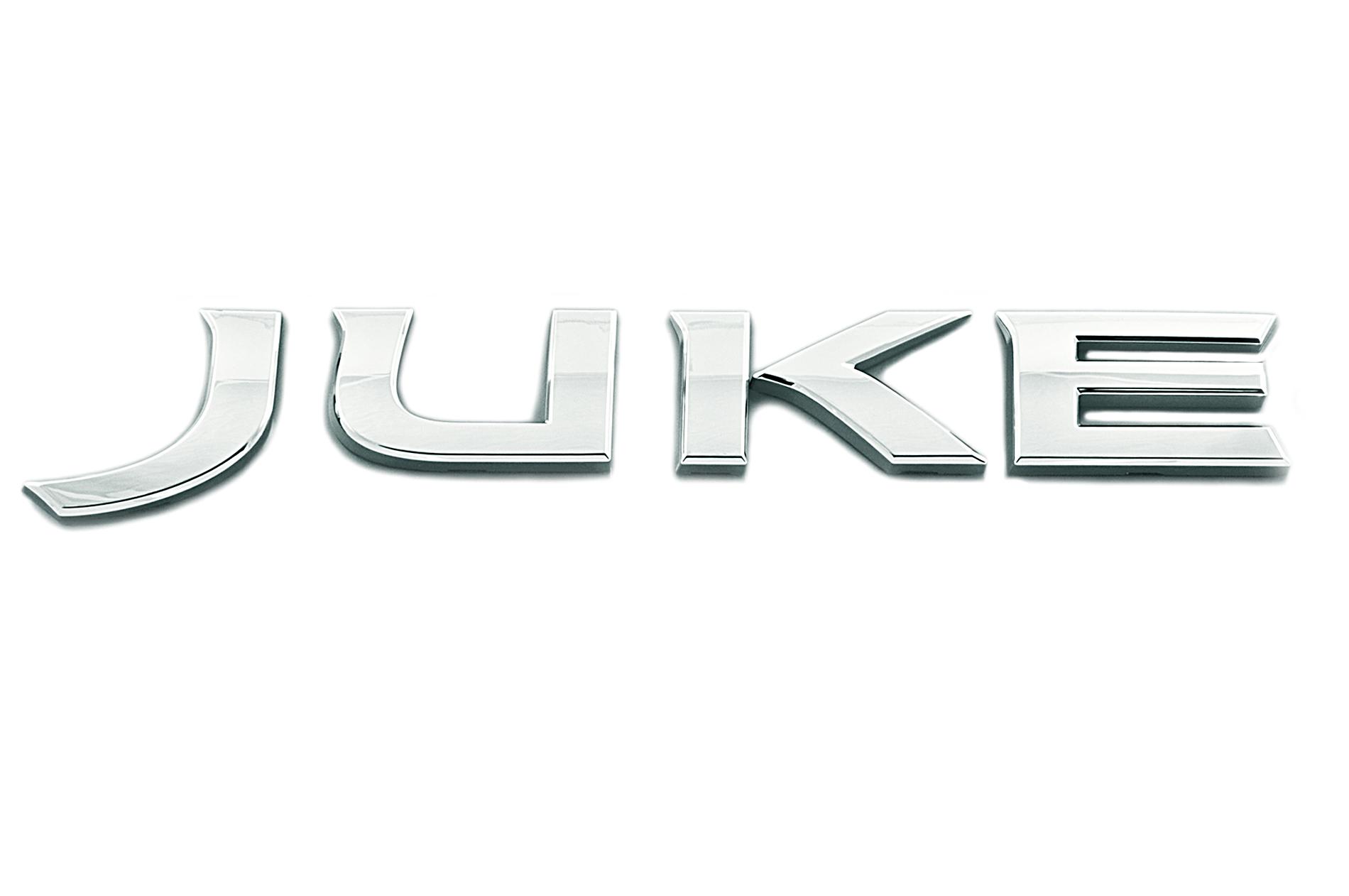 Nissan Genuine Juke Chrome Badge Emblem Rear For Boot