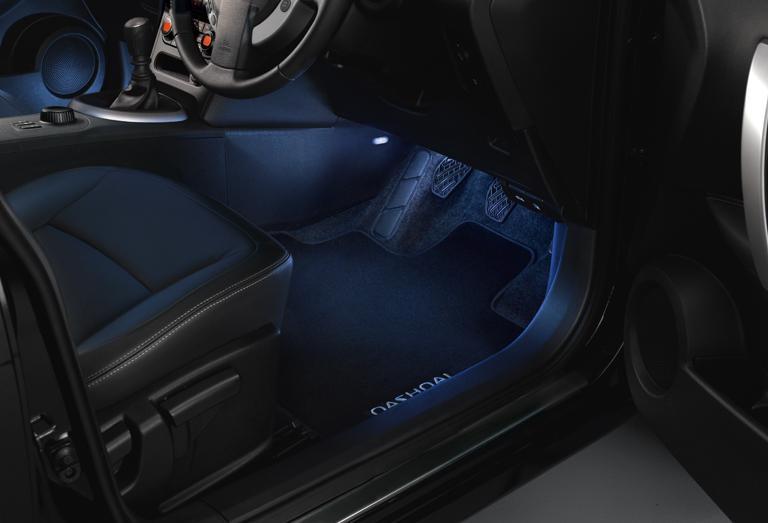 Nissan Genuine Qashqai J10 Interior Footwell Ambience