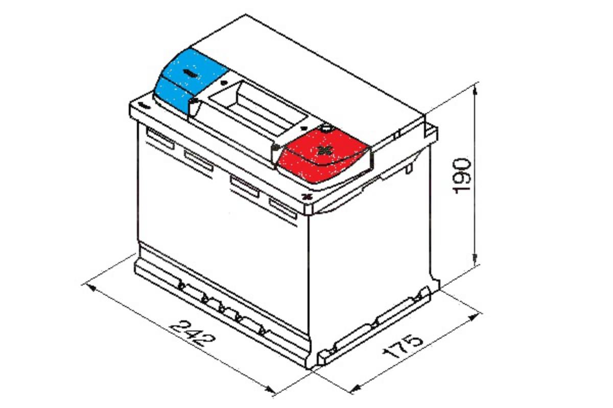 Yuasa Car Battery Calcium Open Vent 12v 480cca 55ah T1 For