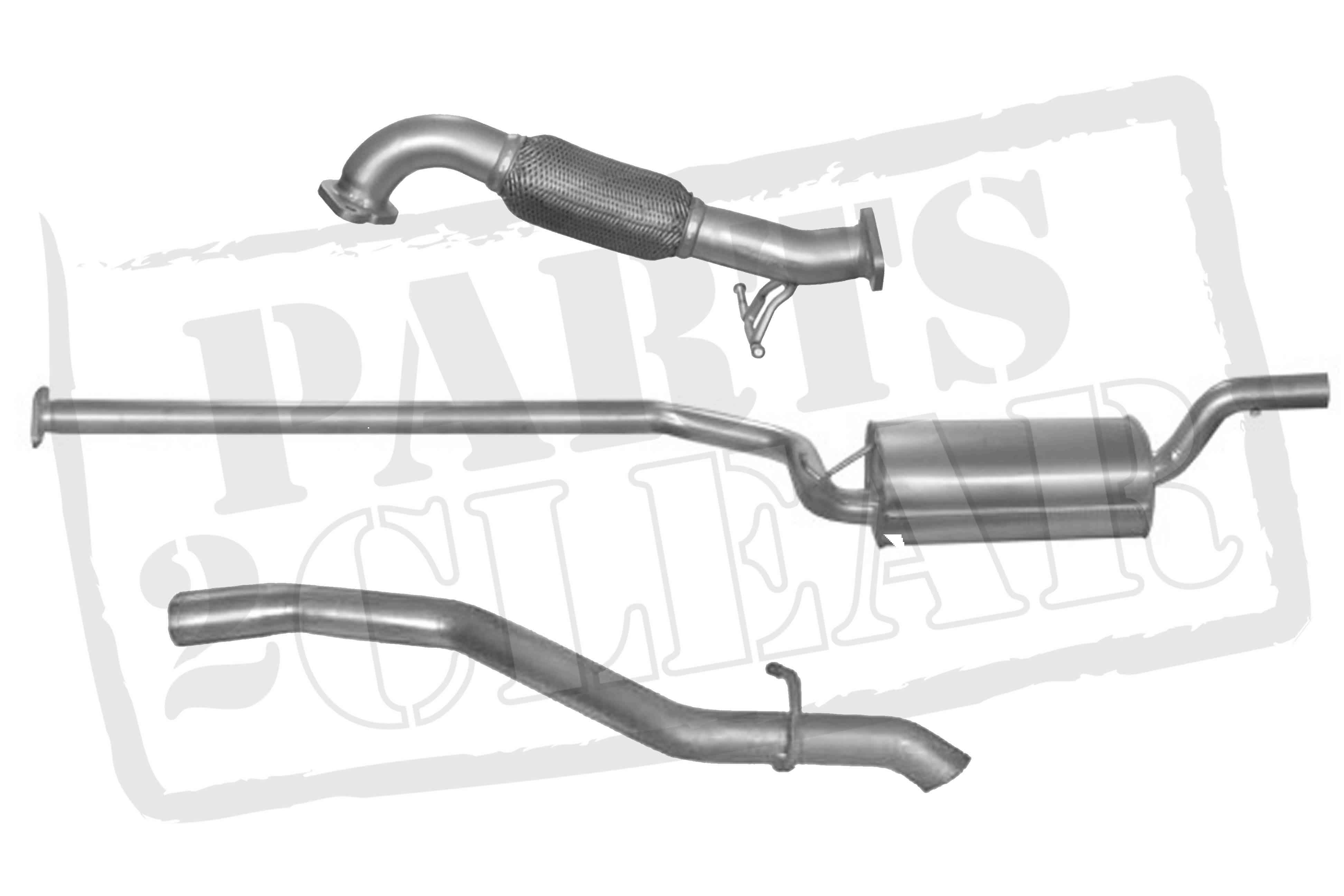 Ford Focus 1 6 Tdci Front Centre Rear Full Exhaust System