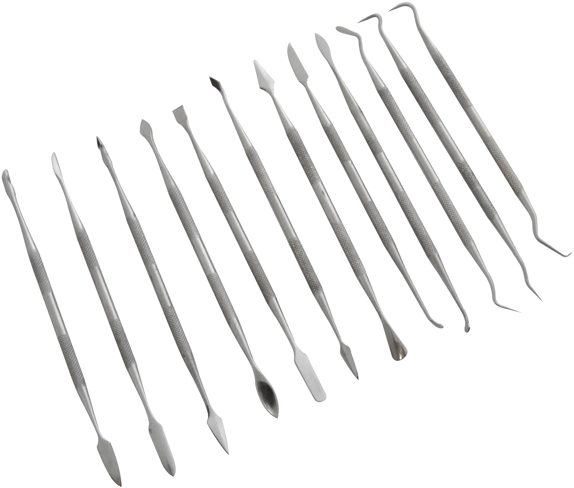 Wax Carver Set 12pc Stainless Steel Clay Tool Kit