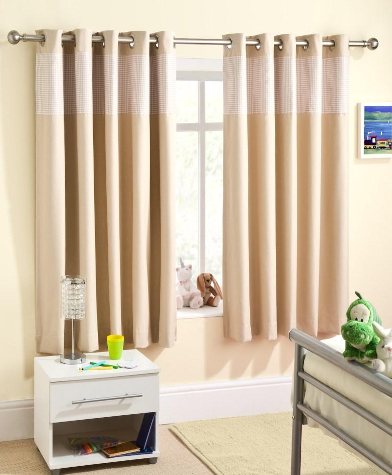 Nursery eyelet curtains uk for Nursery curtains uk