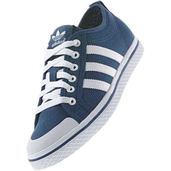 New Womens Adidas Originals Honey Stripes Low Navy Blue ...