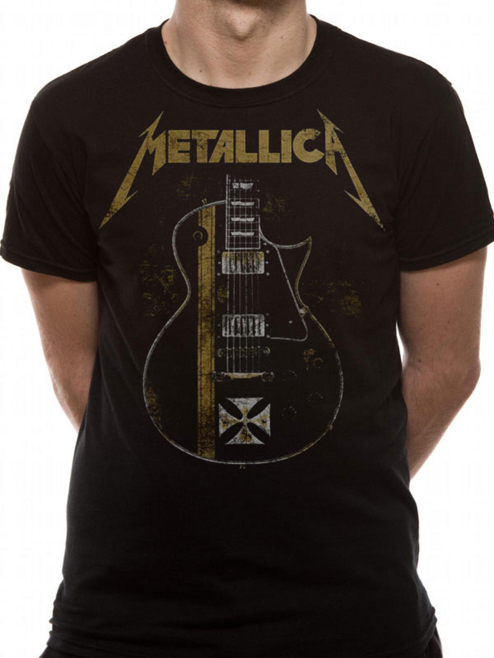 Metallica Hetfield Iron Cross T Shirt TM Shop