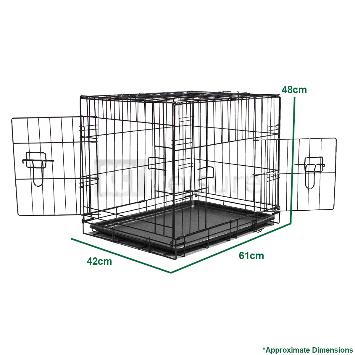 Small Pet Crate Metal Cage For Dog Training Puppy Cat