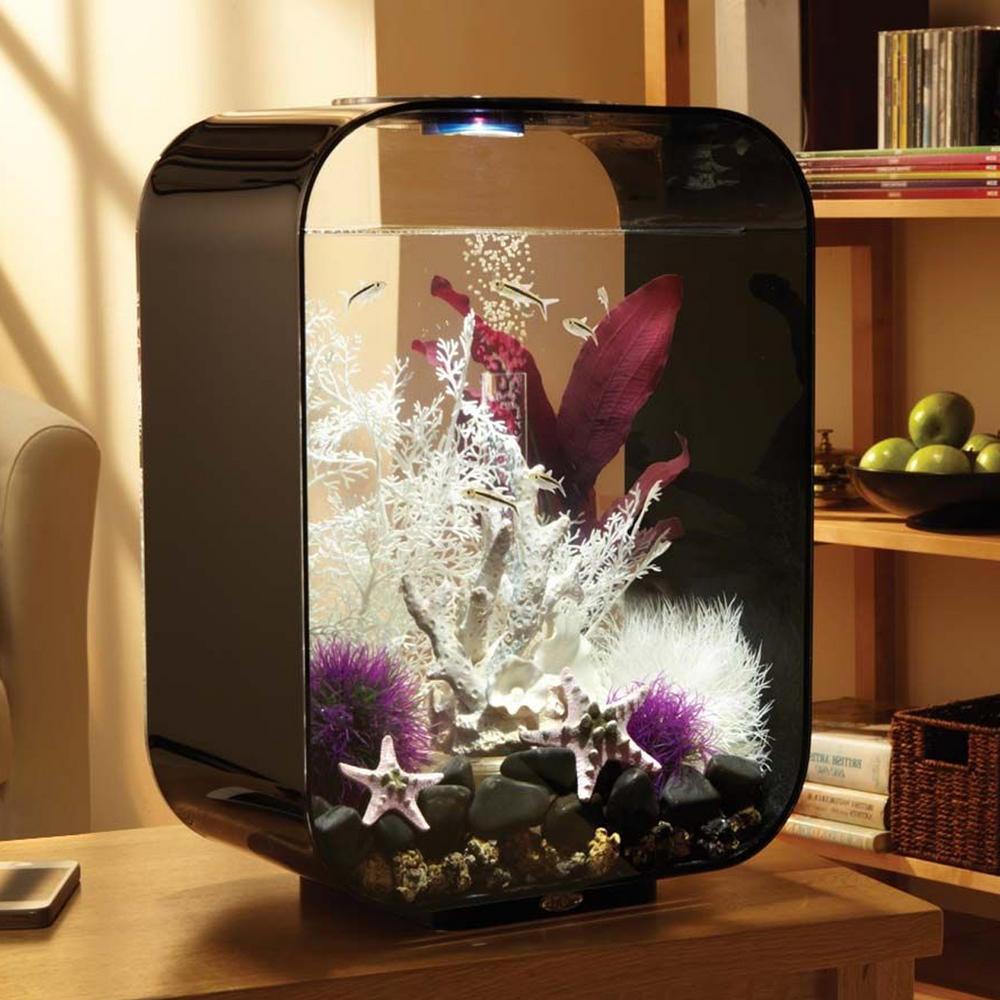BiOrb Life 15L Black Aquarium With MCR LED Lighting